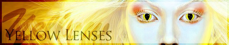 Yellow Contact Lenses