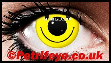 Acid Face Independence Day Contact Lenses