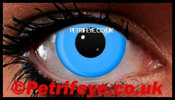 Blue UV Clubbing Contact Lenses
