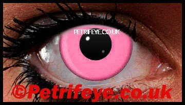 Pink UV Party Contact Lenses
