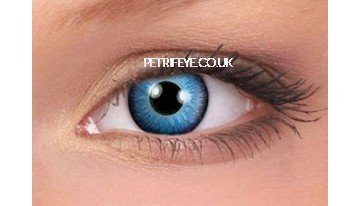 Blue The Host Contact Lenses