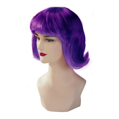 Violet Stargazer Adjustable Terry Style Fashion Wig