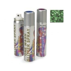 Stargazer Green Glitter Hair Spray