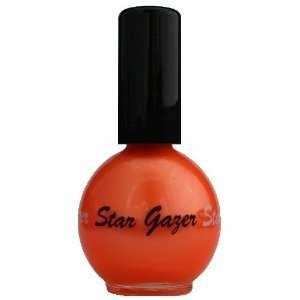 Stargazer UV Orange Neon Nail Varnish 14ml 103