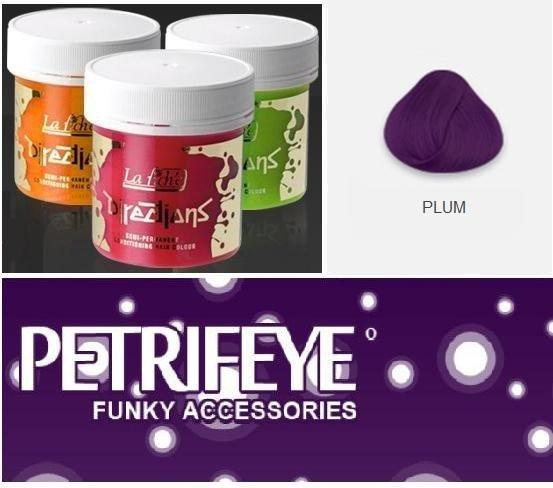 Rich Plum Directions Semi Perm Hair Dye By La Riche
