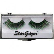 Stargazer Reusable False Eyelashes Black & Green Foil 6