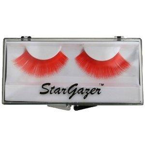 Stargazer Reusable False Eyelashes Bright Red 15