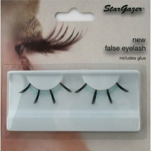 Stargazer Reusable False Eyelashes Black & Light Blue 42