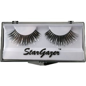 Stargazer Reusable False Eyelashes Black & Silver Foil 4
