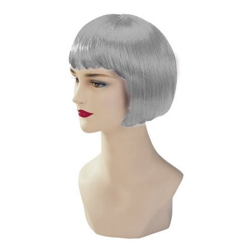 Silver Stargazer Adjustable Bob Style Fashion Wig