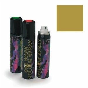Stargazer Gold Metalic One Wash Colour Hair Spray 75m