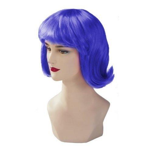 Blue Stargazer Adjustable Terry Style Fashion Wig