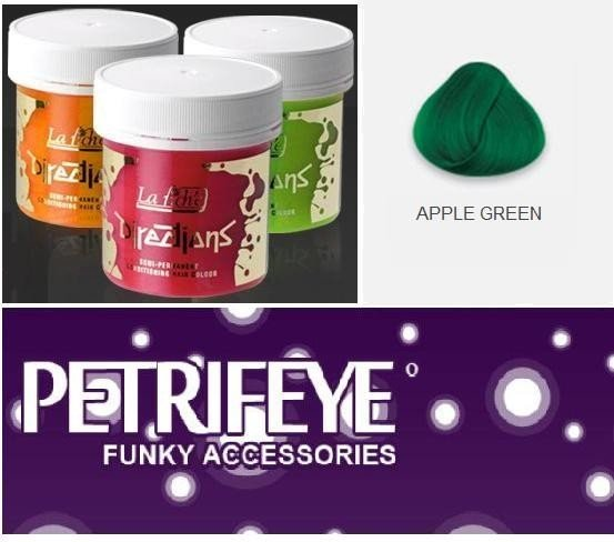 Apple Green Directions Semi Perm Hair Dye By La Riche