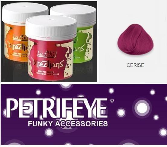 Cerise Directions Semi Perm Hair Dye By La Riche