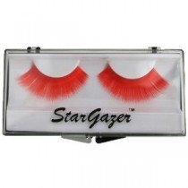 Stargazer Reusable False Eyelashes Bright Red 15