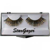Stargazer Reusable False Eyelashes Black & Gold Foil 3