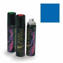 Stargazer Blue (UV Reactive) One Wash Colour Hair Spray 75m