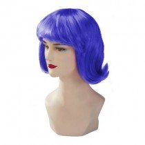 Blue Stargazer Adjustable Terry Style Fashion Wig