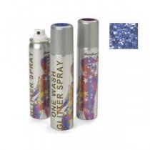 Stargazer Blue Glitter Hair Spray