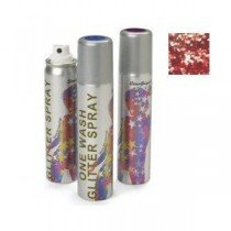 Stargazer Red Glitter Hair Spray